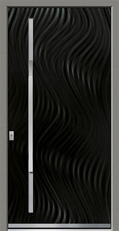 PECORA Optik: Eloxal Schwarz C-35/Schliffbild Fine, Glas BONN