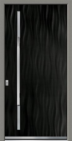 PECORA Optik: Eloxal Schwarz C-35/Schliffbild Medium, Glas BONN