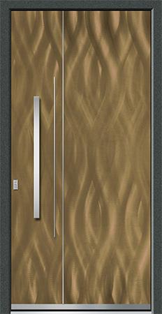TIBER Optik: Eloxal Bronze C-33/Schliffbild Magna