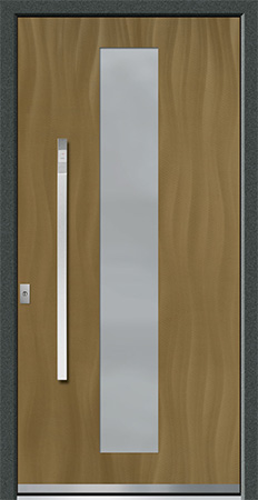 VALIRA Optik: Eloxal Bronze C-33/Schliffbild Medium, Glas BONN